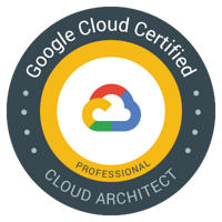 Google Cloud Certified Professional - Cloud Architect