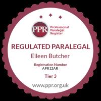 Professional Paralegal Register practising certificate number