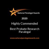 National Paralegal Awards Finalist