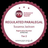 Professional Paralegal Register practising certificate