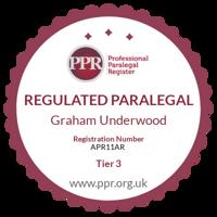 Professional Paralegal Register practising certificatenumber