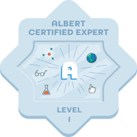 Albert Certification Expert Badge
