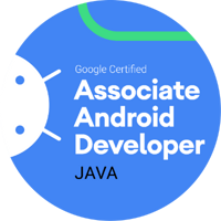 Associate Android Developer Badge Logo