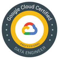 Google Cloud Certified Data Engineer Badge