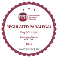 Professional Paralegal Register practising certificate