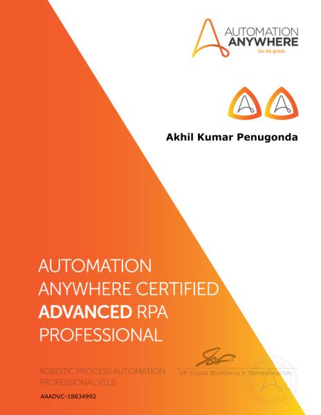 certifications software