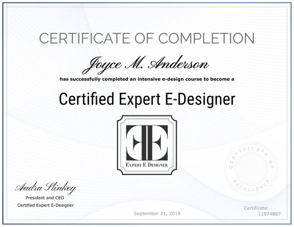 Certified Expert E-Designer