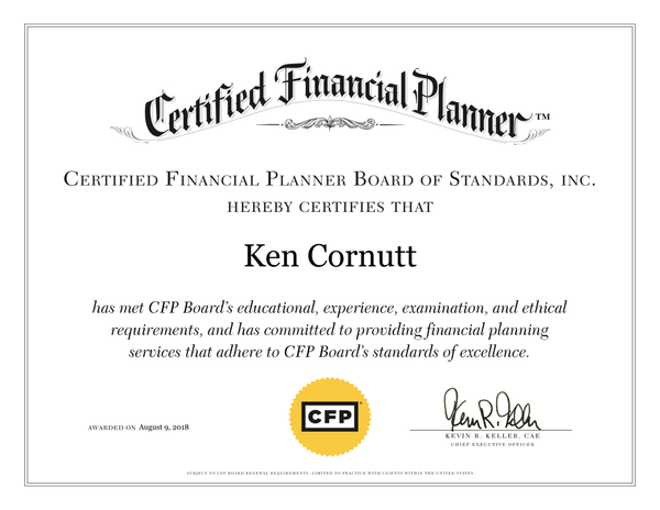 CFP®DigitalCertificate