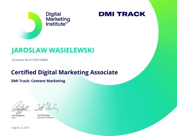 Certified Digital Marketing Associate