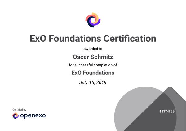 Perfil Oscar Schmitz OpenEXO