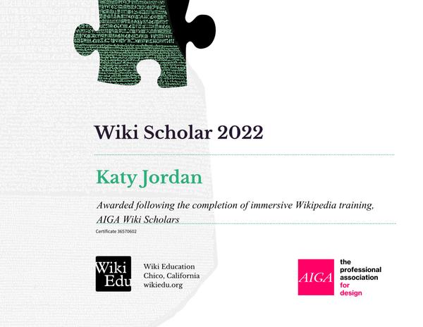 WikiScholarsCertificate